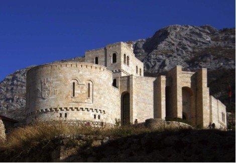 Castle of Kruja.